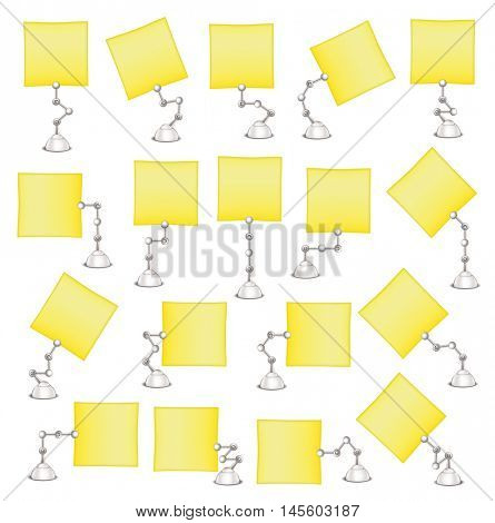 Set paper holders