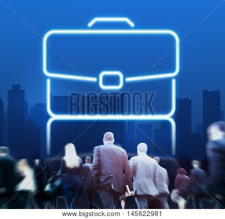 Suitcase Case Business Work Bag Concept