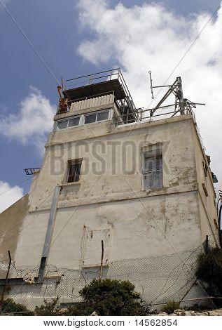 Lebanese Guard Post at Border