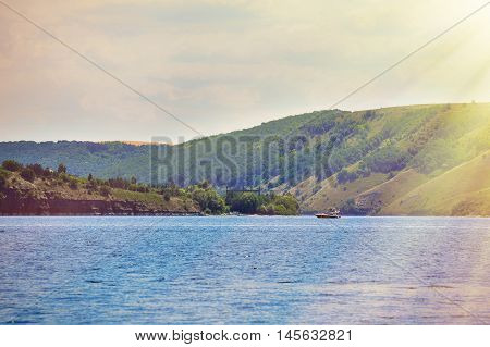 Bank Of The Dniester River