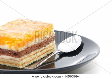 Cake On A Plate