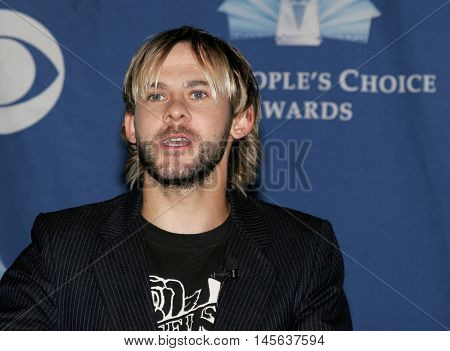 Dominic Monaghan at the 32nd Annual People's Choice Awards Nominations held at the Hollywood Roosevelt Hotel in Hollywood, USA on November 10, 2005.