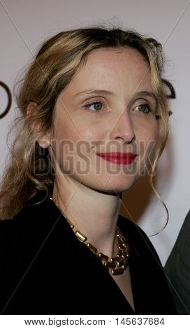 Julie Delpy at the Los Angeles screening of 'Walk The Line' held at the Academy of Motion Picture Arts & Sciences in Beverly Hills, USA on November 10, 2005.