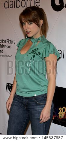 Allison Munn at the Los Angeles screening of 'Walk The Line' held at the Academy of Motion Picture Arts & Sciences in Beverly Hills, USA on November 10, 2005.