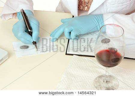 Forensic Science Obtaining Fingerprints
