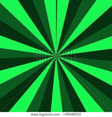 Light green and dark green stripes background.