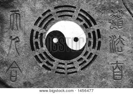 Yin-Yang. Meditation.