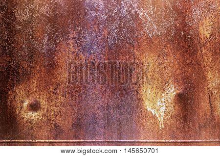 Texture Of Rusty Iron