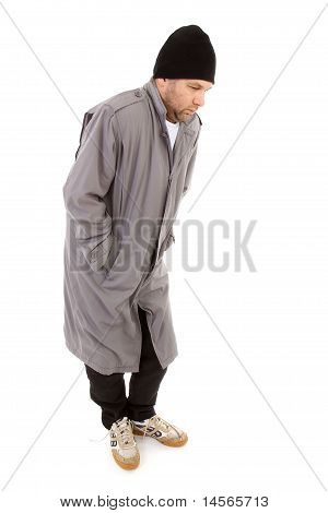 Male Homeless Tramp
