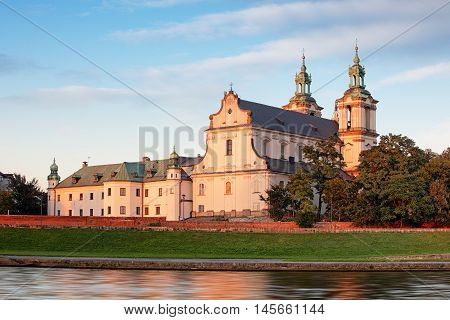 Cracow Church on the Rock Kosciol na Skalce Krakow