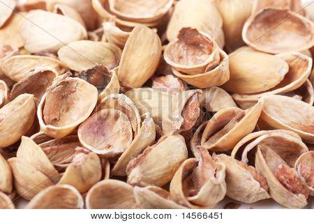 Nutshells Of Pistachios