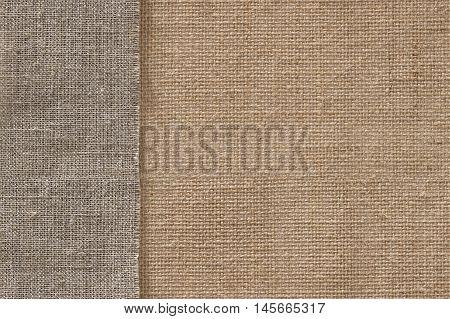 Burlap Fabric Seamless Sack Cloth Background Jute Sackcloth Texture