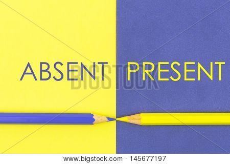 Absent Versus Present Contrast Concept