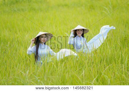 Vietnamg girl Hanoi Vietnam, The idea is to promote tourism