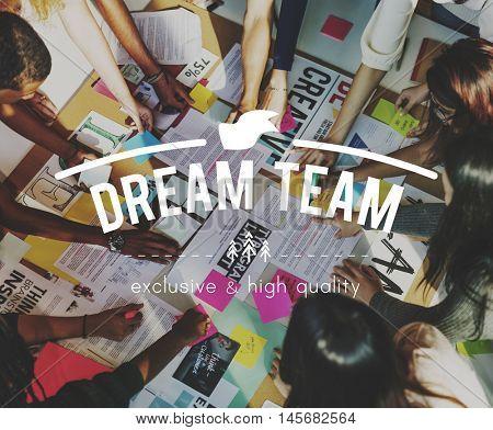 Dream Team Collaboration Togetherness Association Concept