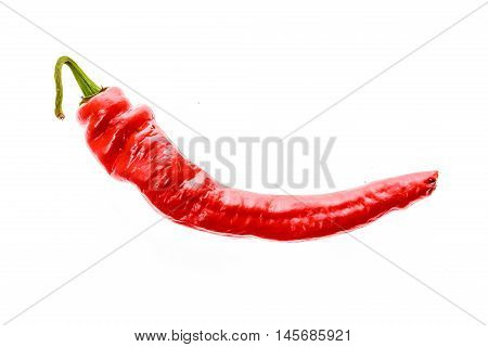 Red Hot Chili Peppers Cayenne, Serrano With Green Stem. Cayenne, Serrano Or S