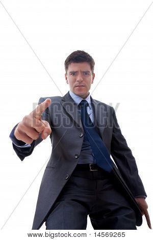 Angry Geschäftsmann