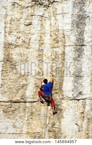 Cliffhanger.
