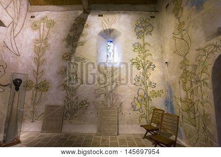 Saint Blaise Des Simples Chapel, Milly La Foret, France