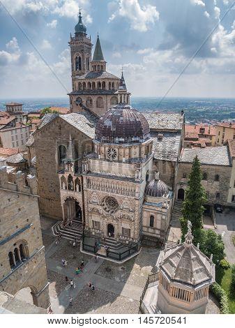 Basilica di Santa Maria Maggiore in Bergamo Italy