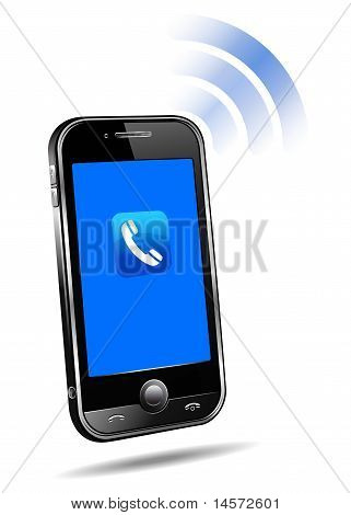 Cell Smart Phone Ringing Mobile