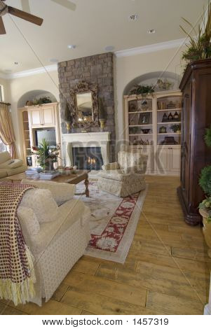 Upscale Family Room