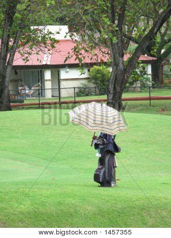 Golfe na chuva