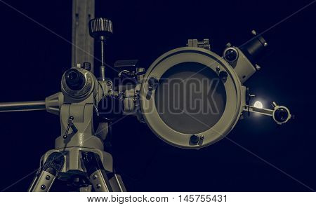 Astronomical Telescope Vintage