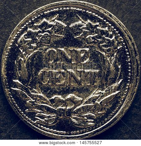 Vintage Coin Picture