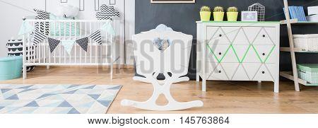 Scandinavian Inspirations In Baby Bedroom