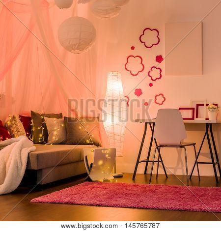 Stylish Interior For Princess Girl