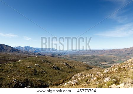 Heading Up - Swartberg Nature Reserve