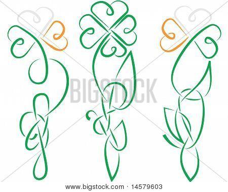 Shamrock Celtic Ireland Knot