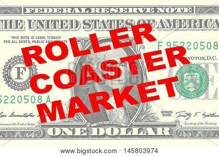 Roller Coaster Market Concept