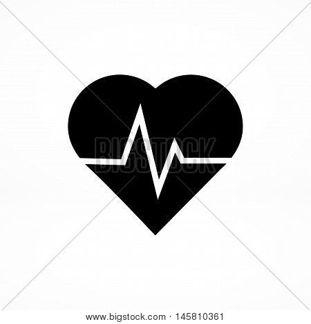 Heartbeat Vector Icon