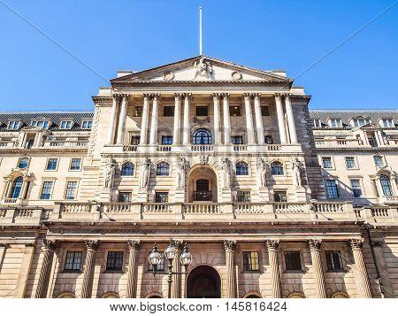 Bank Of England Hdr