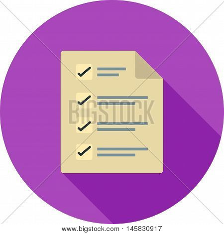 Ballot, box, paper icon vector image.Can also be used for elections. Suitable for web apps, mobile apps and print media.