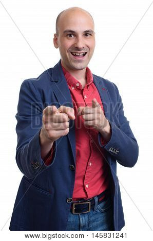 Man Pointing At You