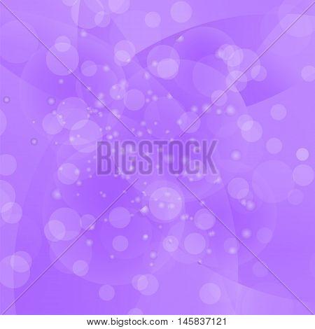Circle Purple Light Background. Round Purple Wave Pattern.