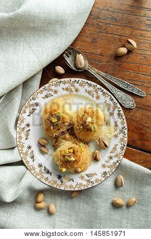Traditional Middle Eastern Dessert Baklava
