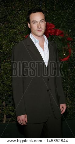 Chris Klein at the Los Angeles premiere of 'Just Friends' held at the Mann Village Theatre in Westwood, USA on November 14, 2005.