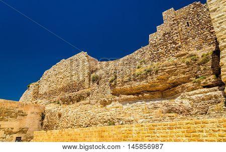 Medieval Crusaders Castle in Al Karak - Jordan