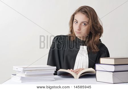 Young Law School Student
