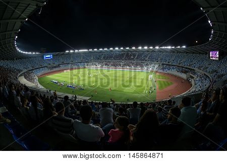 Interior View Of Boris Paichadze Dinamo Arena, Tbilisi, Georgia
