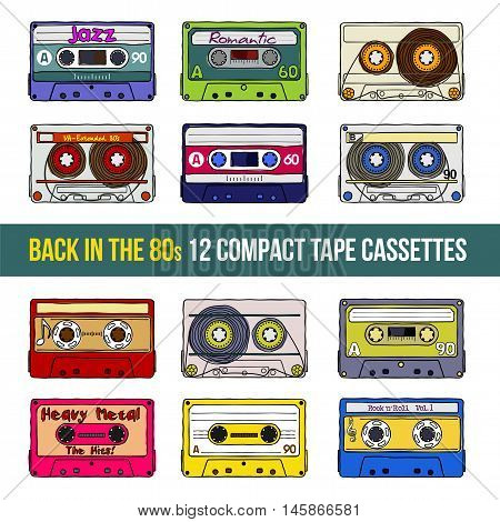 Compact Tape Cassettes
