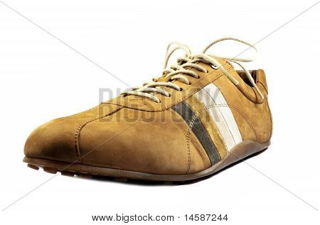 Quality Leather Casual Moccasin Shoe