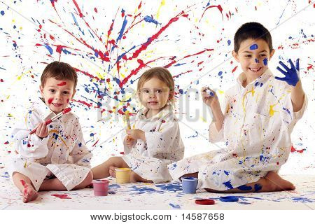 Young Artists At Work