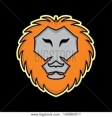 Lion Mascot, Lion logo Concept, Lion icon