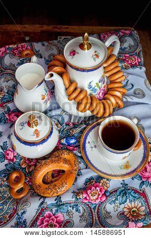 Shrovetide. Russian Pancake Festival.