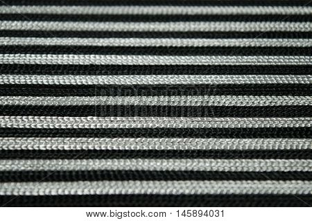 Striped seamless pattern with horizontal line. Black and white fashion graphics design. Strict graphic background. Retro style. Template for wallpaper, wrapping, textile, fabric.